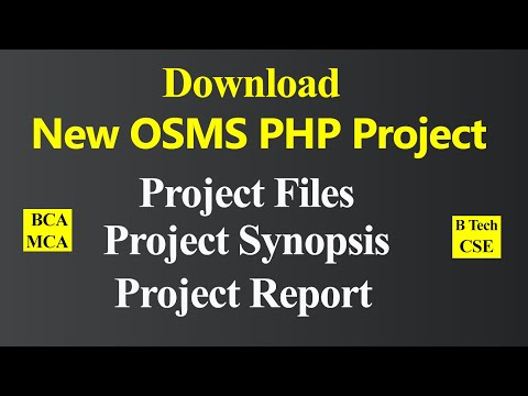 How To Prepare And Download Project Synopsis And Project Report Of MCA BTech BCA Computer Science
