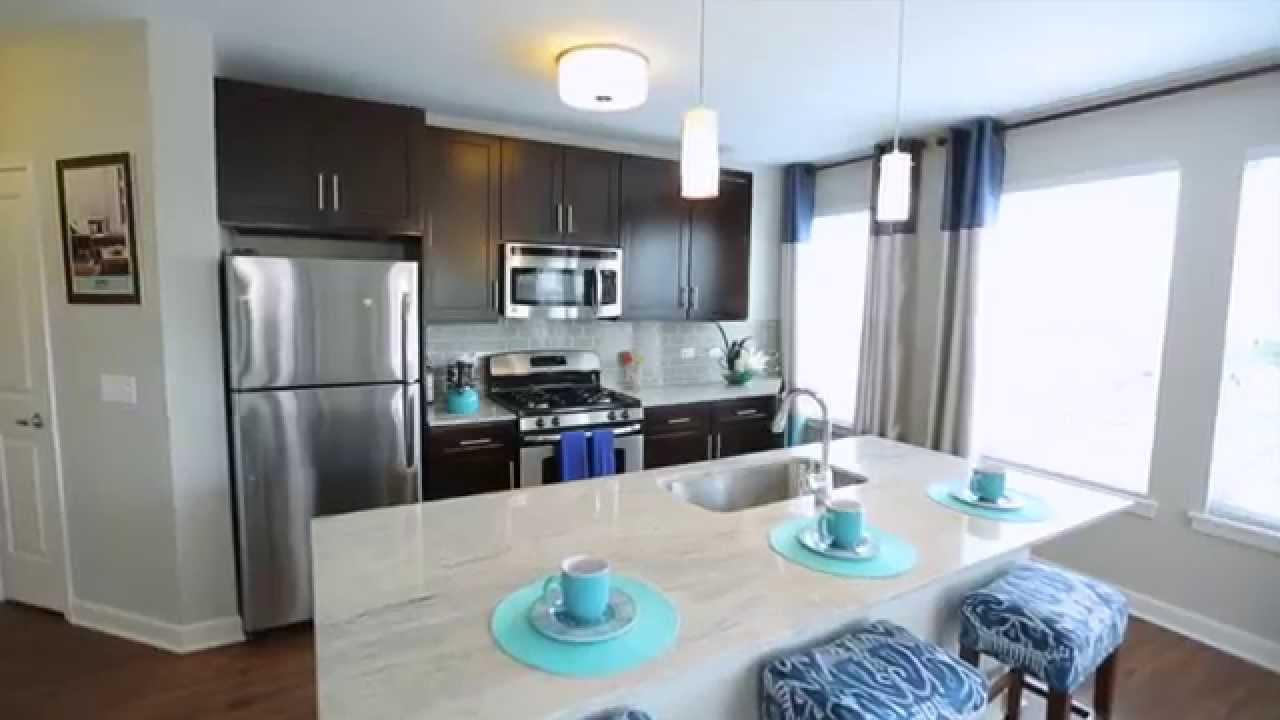 One Bedroom Luxury Evanston Apartment Model Amli Evanston Youtube