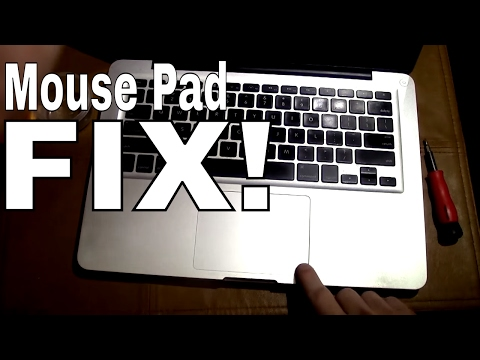 Macbook TrackPad -- MousePad Not Clicking --DIY--How To