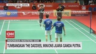 Indonesia Raih Juara Umum Indonesia Masters 2020