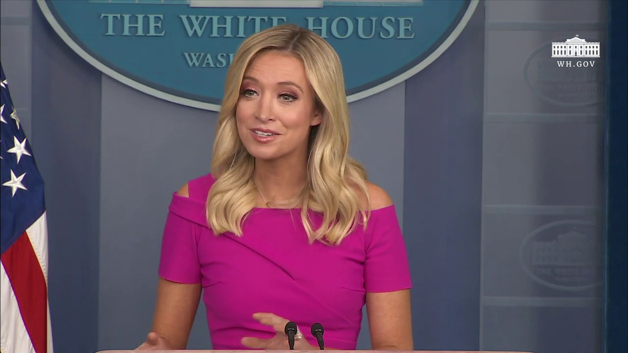 Watch White House Press Secretary Kayleigh Mcenany Gives News Briefing Video Realclearpolitics