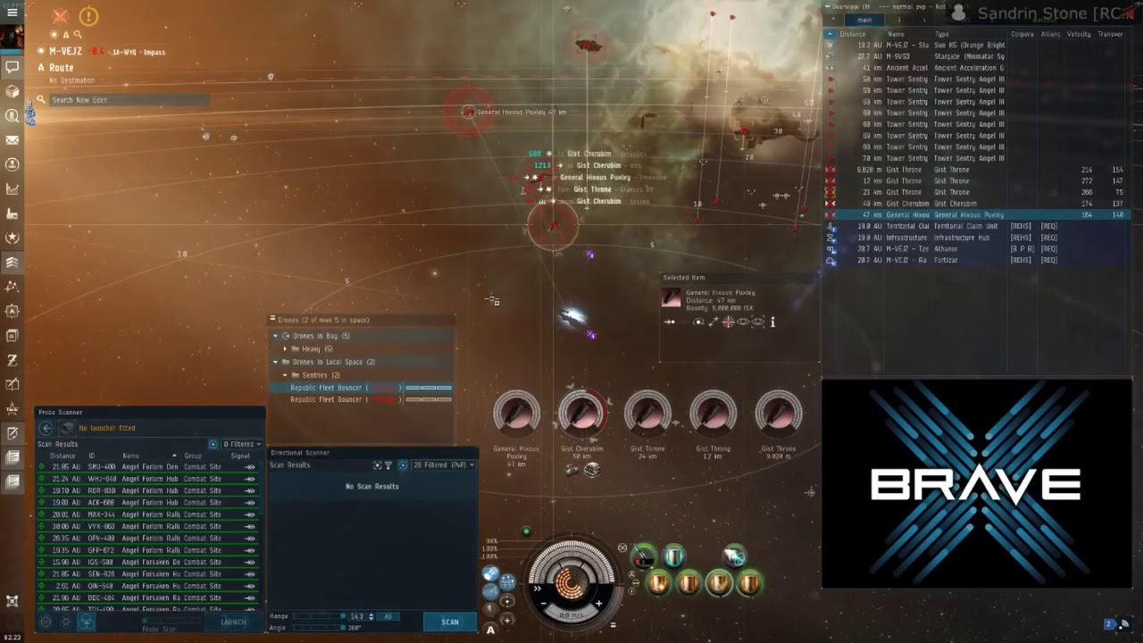 Making isk in the Blackout - Angel 10/10 - Sandrin Stone - Eve Online -  August 2019