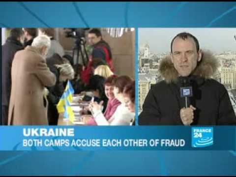 Viktor Yanukovich declears victory in Ukraine - F24 100207