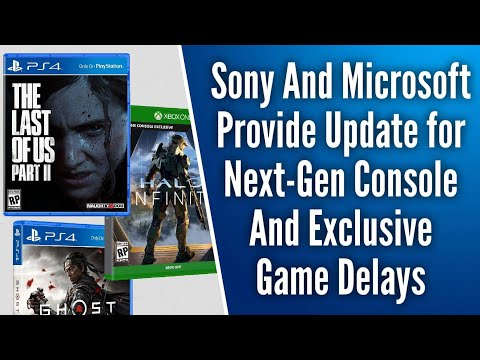 Sony & Microsoft Provide Critical Update On PS5, Xbox Series X, & Exclusive Game Delays