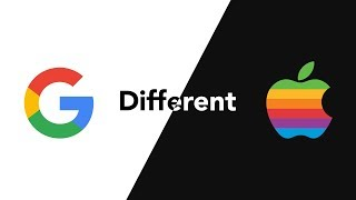 Why are Apple and Google so different?