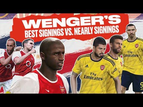 Arsene Wenger's Best Arsenal Transfers vs. Stars He Nearly Signed Sim