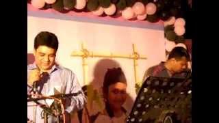 """Asma Khan & Monjur Khan singing a great song """"Jodi Bou Sajo Go"""" in Sadia"""