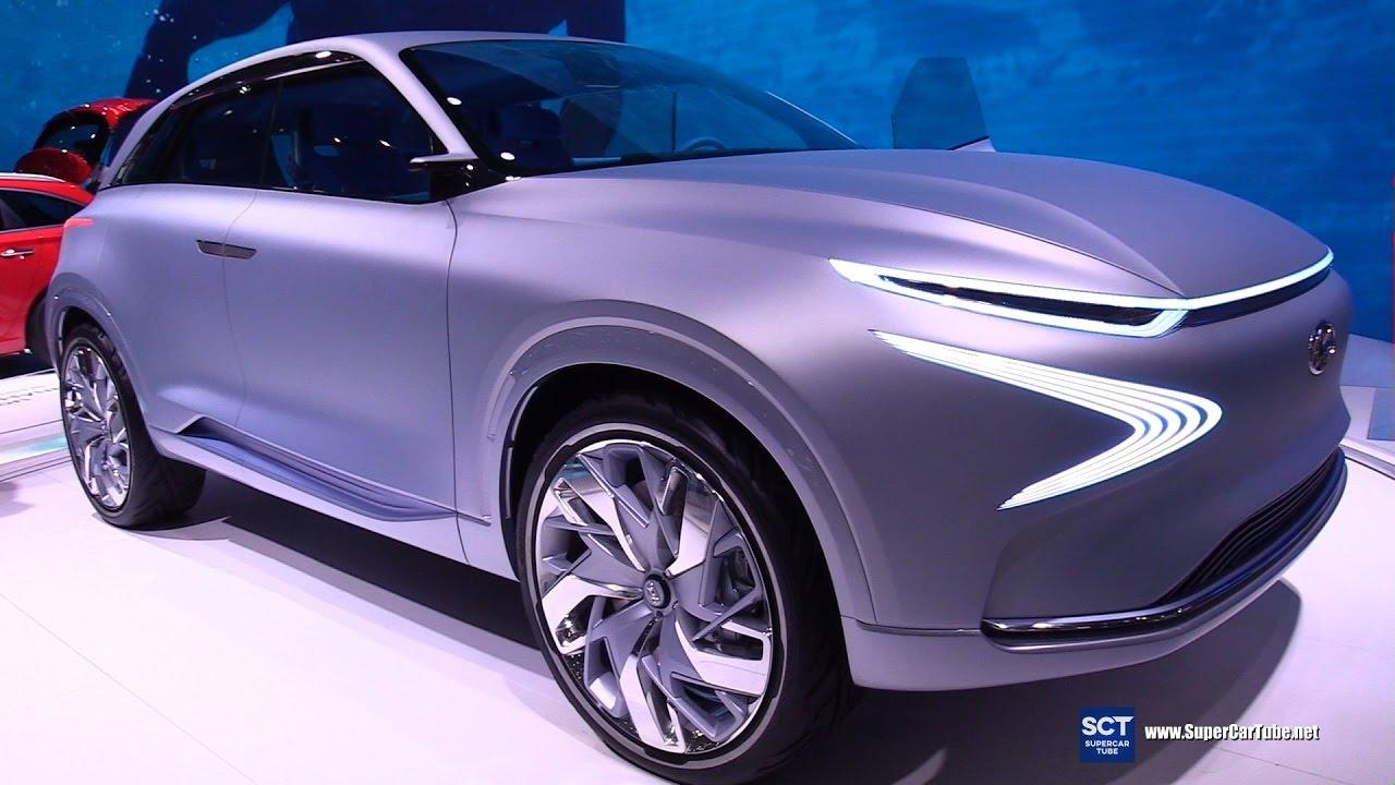 2018 Hyundai Fe Fuel Cell Concept Exterior Interior Walkaround Debut 2017 Geneva Motor Show