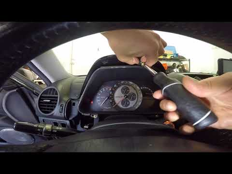 How To Replace Instrument Cluster Bulb (lexus IS300 2001-2005)