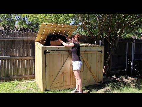 Building a Garbage Can Enclosure - Part 2