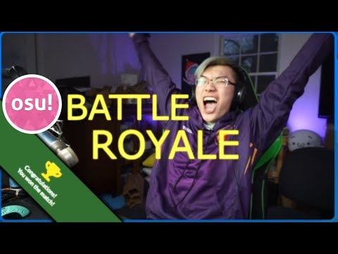 osu! BATTLE ROYALE | My FIRST GAME