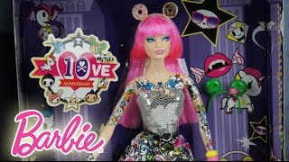 Tokidoki X Barbie 10th Anniversary Black Label Barbie Collector Doll Review