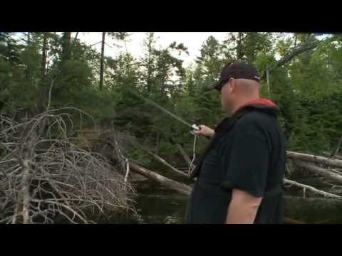 Flipping for Wood Wallowing Walleye - Facts of Fishing THE SHOW