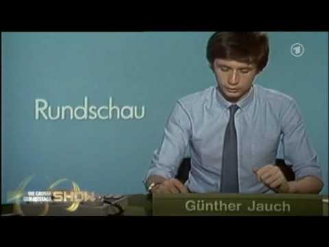 Günther Jauch als Nachrichtensprecher