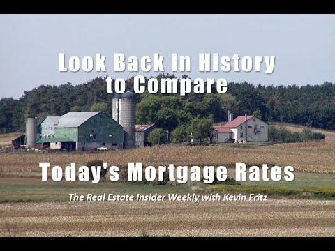 Look Back in History to Compare Today's Mortgage Rates