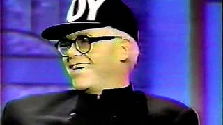 Elton John - Interview on The Arsenio Hall Show in 1990 - HD