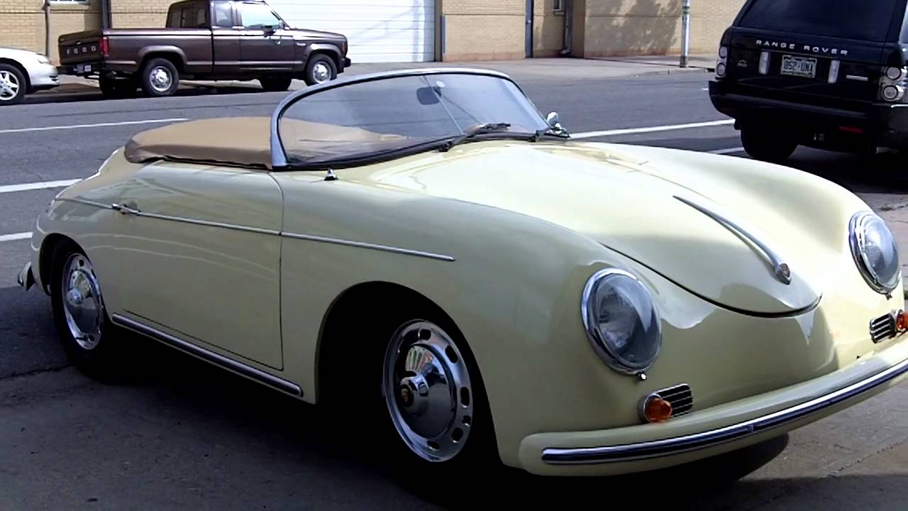 1957 Porsche Speedster Replica For Sale Youtube