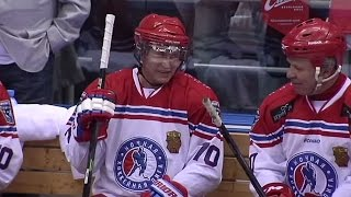 Vladimir Putin: The God of Hockey