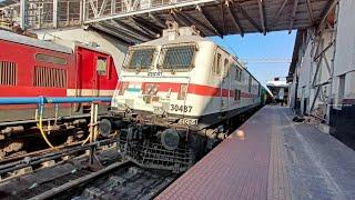 आखिरी बार इटारसी आई चेन्नई गया - दरभंगा अहमदाबाद एक्सप्रेस LAST VIDEO OF DECADTES NAGPUR JN. DEPART