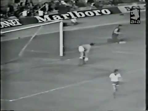 Dynamo Moscow versus Rangers. European Cup Winners Cup final 1972
