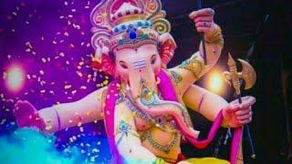 Tere dam se faila ujala ganpati bappa moriya  ek danta  rajal barot  full screen whatssap status  