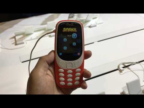 Nokia 3310 (2017) Hands-on - Bahasa Indonesia #MWC2017