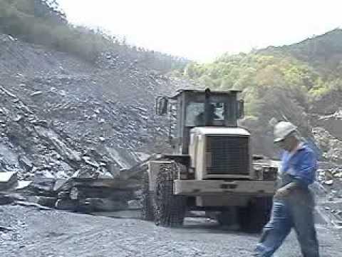 Cantera de pizarra 2 slate quarry 2 carriere d 39 ardoise 2 youtube - Cantera de pizarra ...