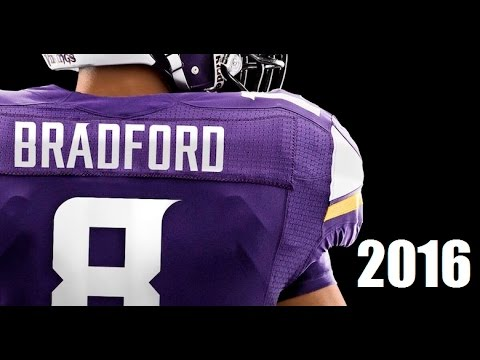 Sam Bradford 2016 Minnesota Vikings Highlights