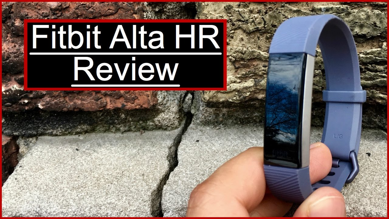 fitbit alta hr review   sale youtube