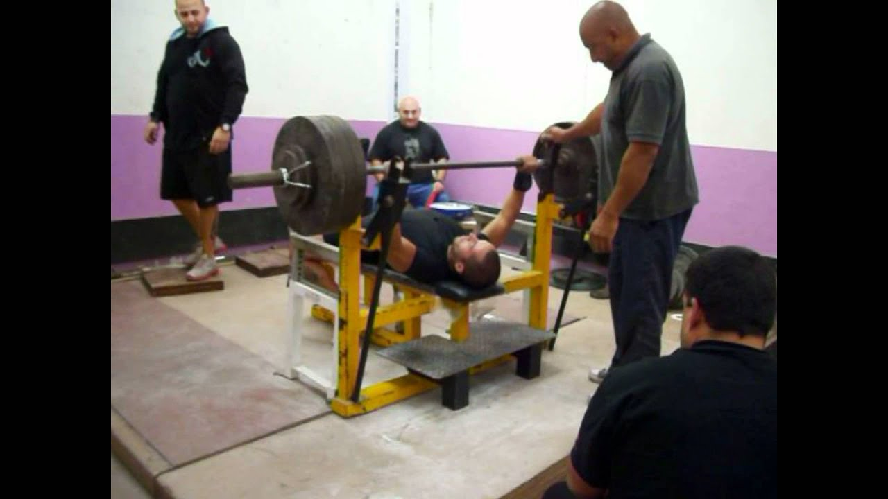 Download Carlos Guadalupe bench press raw 150/155/160 kg @ 75 kg