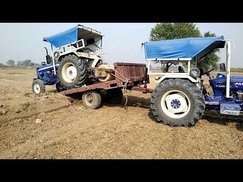 Farmtrac 60 T20 Kolu Ko Dusre Khat M Le Jate Hua