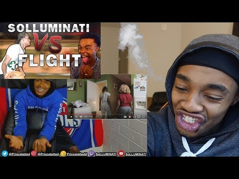 Why... STEAM FROM MY EARS!! SoLLUMINATI vs Flight Reacts is Finally Here REACTION!