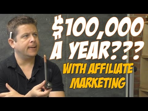#$100,000 Per Year With Simple Sites And Affiliate Marketing???