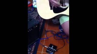 Diy Stomp Box Shred Test Using Acoustic Guitar