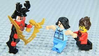 Lego NinjaGo Epic Battle vs Garmadon Episode2