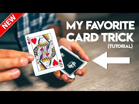 My FAVORITE Card Trick To Perform - Magic Tutorial (Easy) thumbnail
