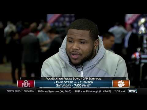 Mike Weber - 2016 Fiesta Bowl Media Day Interview