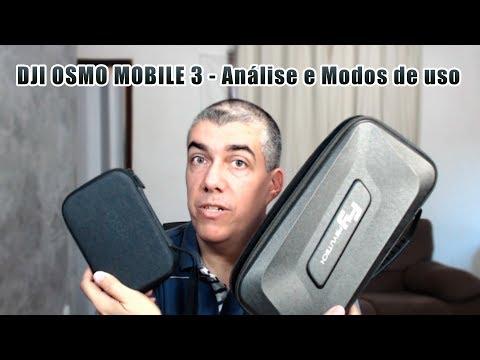 DJI Osmo Mobile 3 - Análise e Modos de uso #OsmoMobile3 #DJI