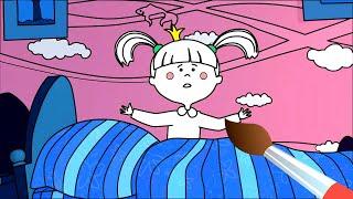 Жила-была Царевна - Раскраска - Монстры вокруг 2 - Учим цвета!