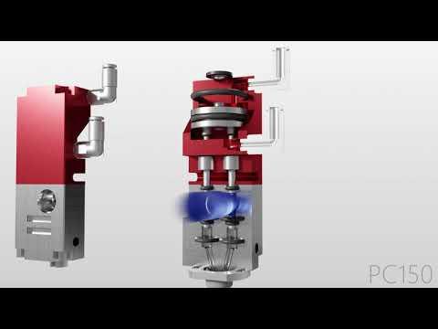 PVA PC150 Compact Two Part Dispense Valve