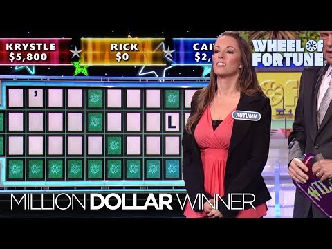Wheel of Fortune's Second Million Dollar Winner!