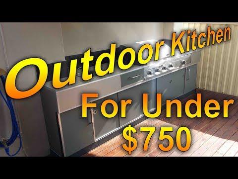 $7000+? Outdoor Kitchen for Under $750