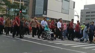 Anies Ajak Jokowi dan Menteri PUPR yang Penasaran Jajal Pelican Crossing