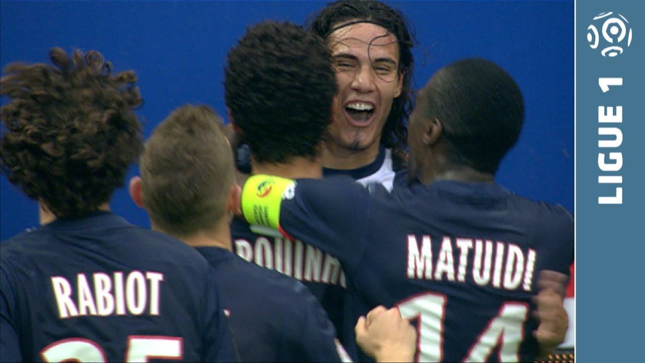 922666916 Incredible run and goal CAVANI (62 ) - Paris Saint-Germain - SC Bastia  (4-0) - 2013 2014