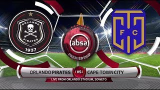 Absa Premiership 2018/19 - Orlando Pirates vs Cape Town City