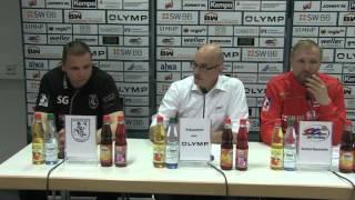 SG BBM Bietigheim vs. HF Springe: Pressekonferenz / Interviews / Spielszenen