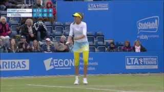 QF: Hantuchova vs. Schiavone; Birmingham 2013 Highlights Thumbnail