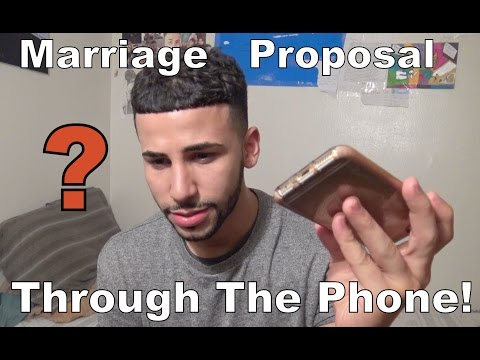 I Got A Marriage Proposal Through The Phone!