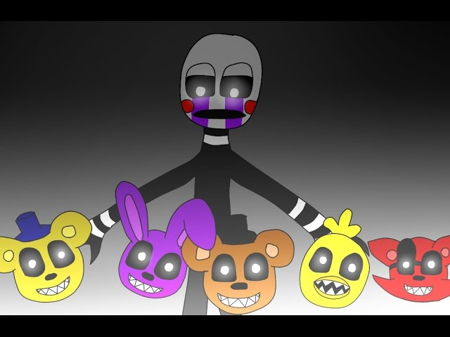 Fnaf Puppet song Animation     done