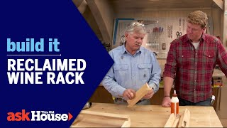 Build It | Reclaimed Wine Rack